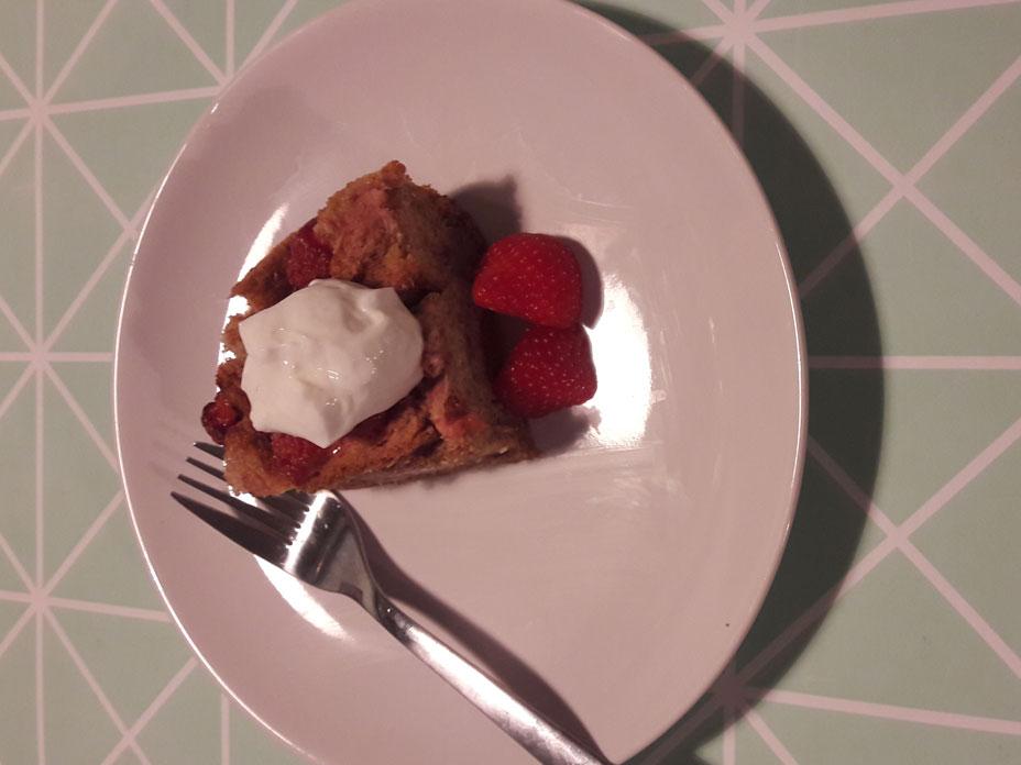 Gezonde Wentelteefjes taart