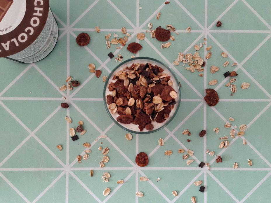 Chocolade trifle