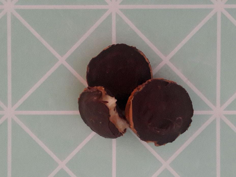 Banaan-Pindakaas bonbons