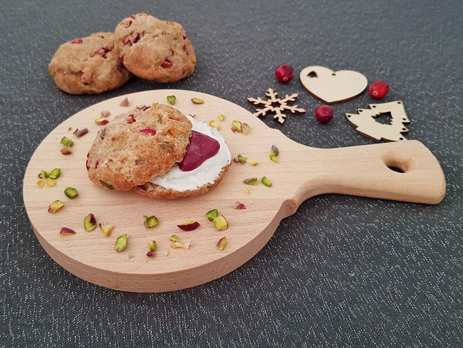 Cranberry scones