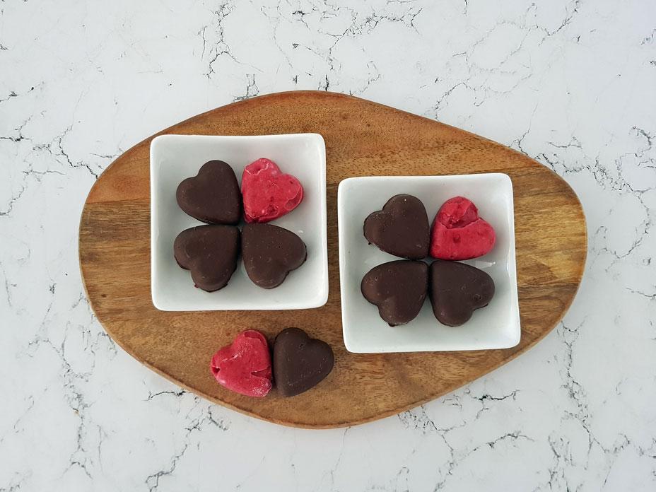 Frambozen bonbons