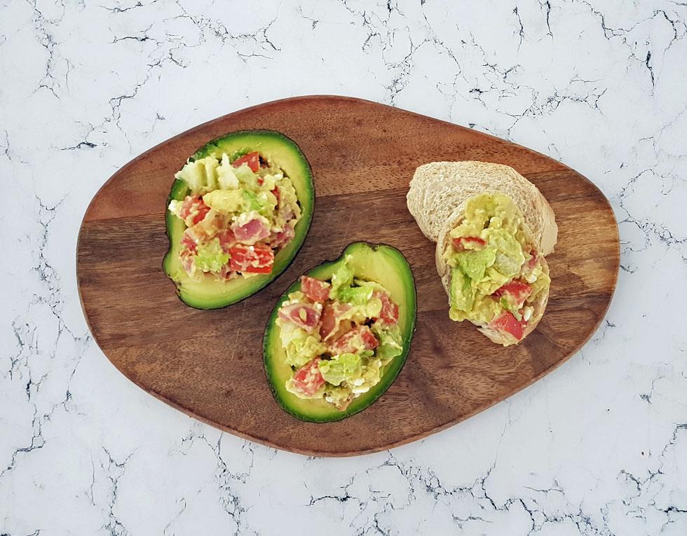 BLT avocadosalade