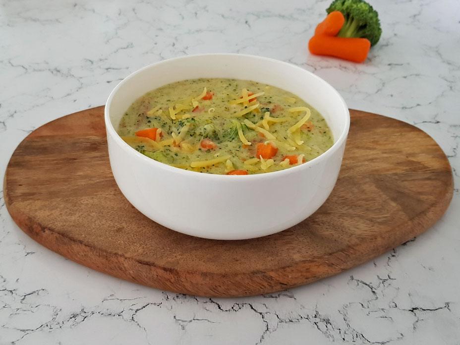 Broccoli kaas soep