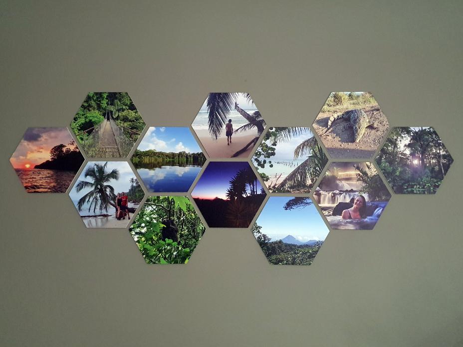 Hexagon van fotocadeau.nl