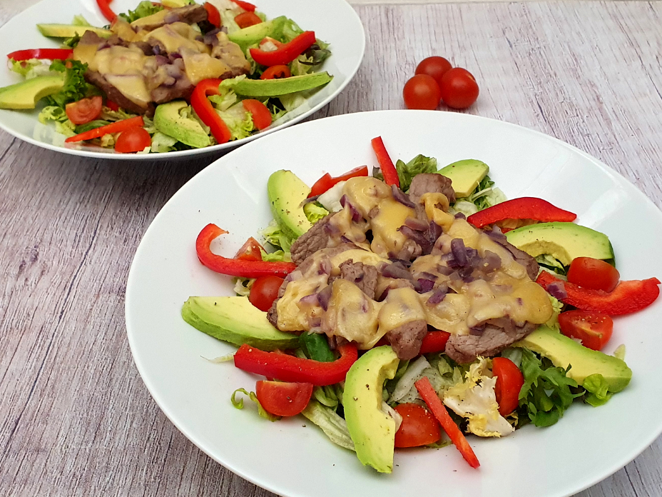 philly cheesesteak salade