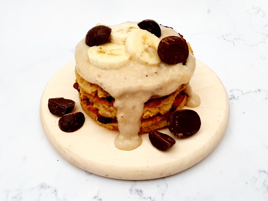 Banoffee pancakes