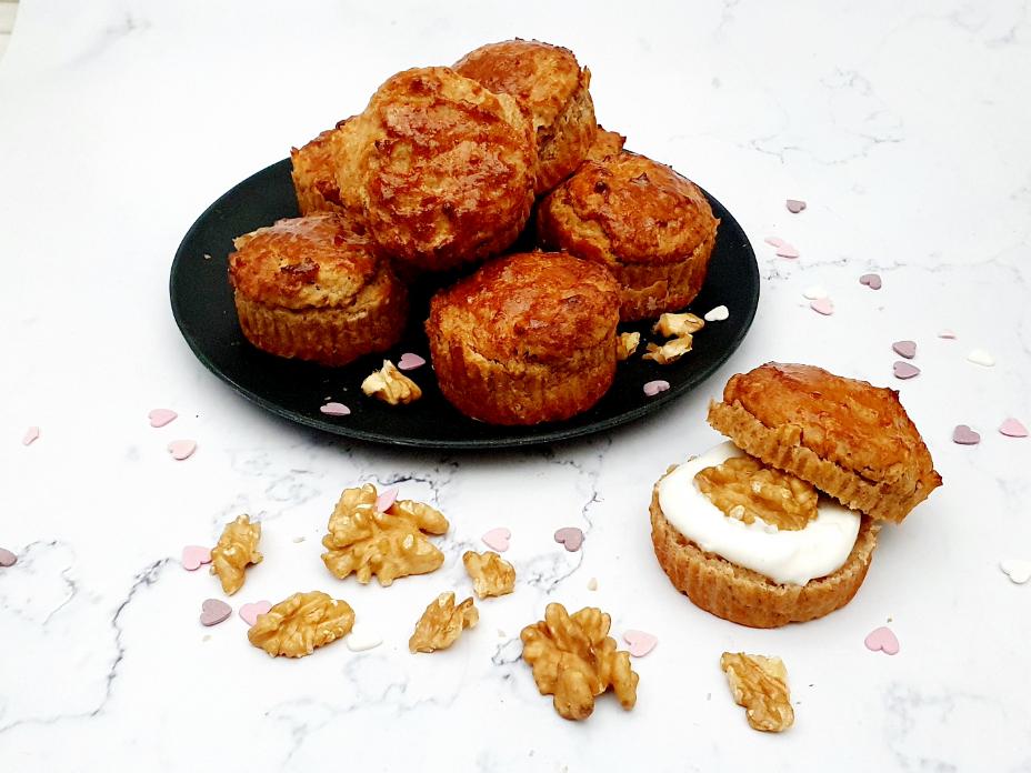 Bananenbrood scones