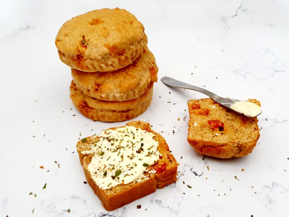 Chorizo geitenkaas brood