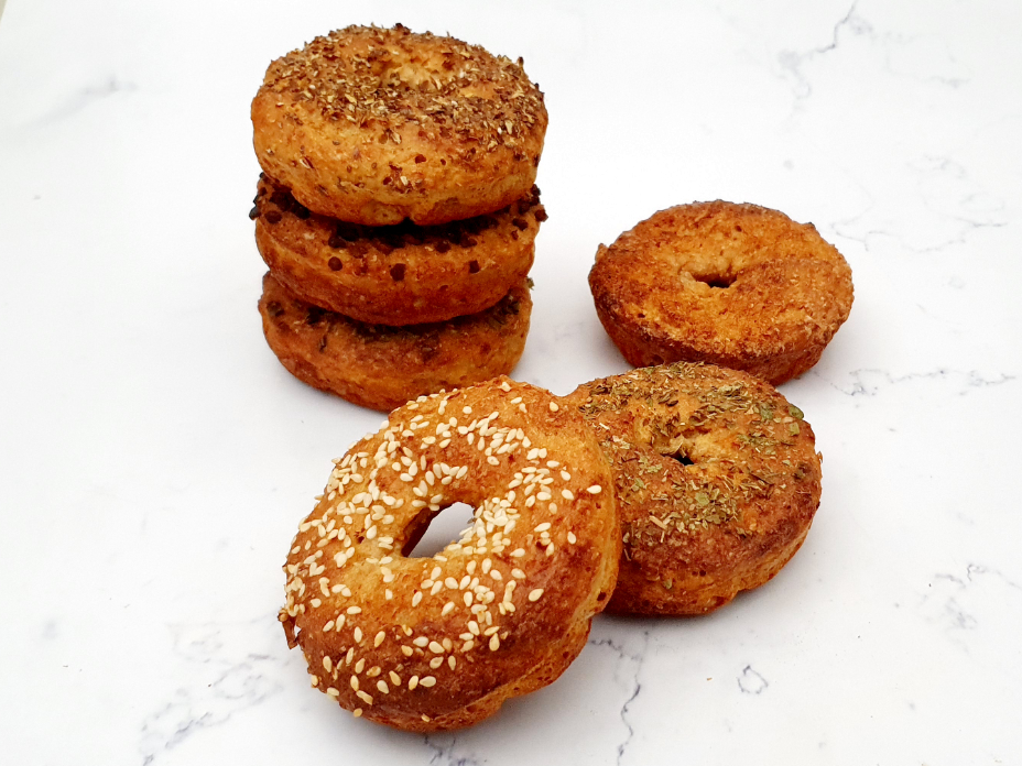 Gezonde bagels