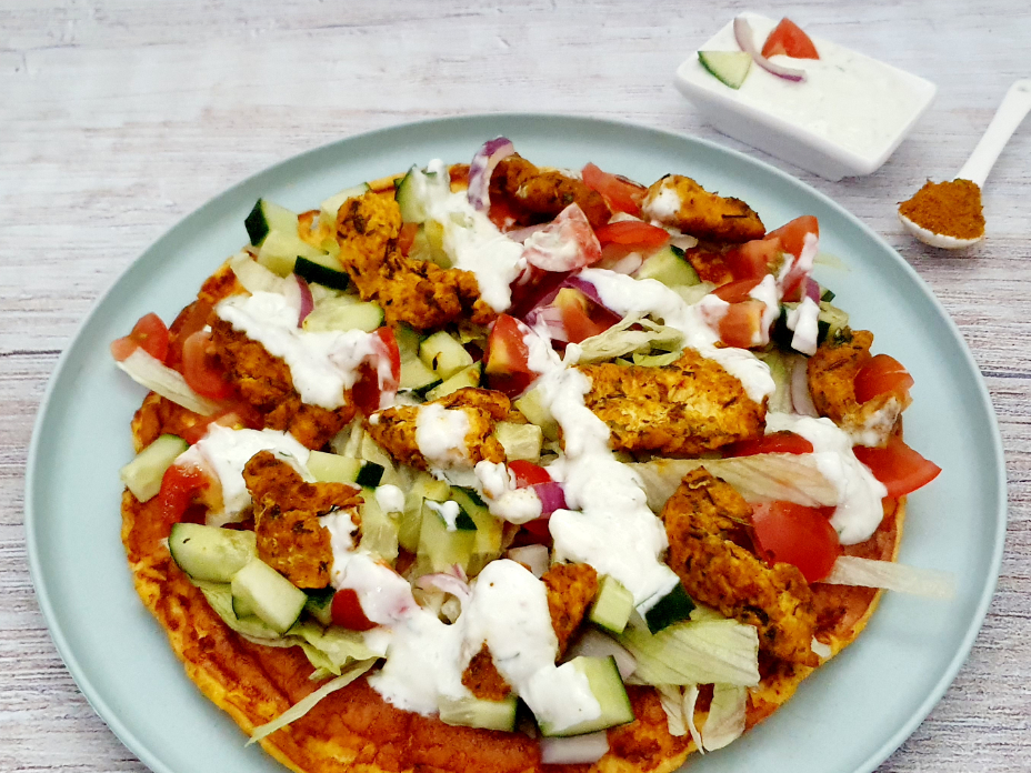 Gezonde gyros omelet