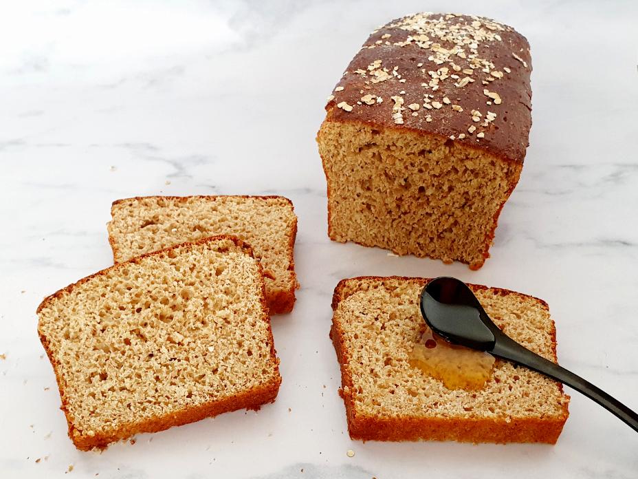 Eiwitrijk honingbrood