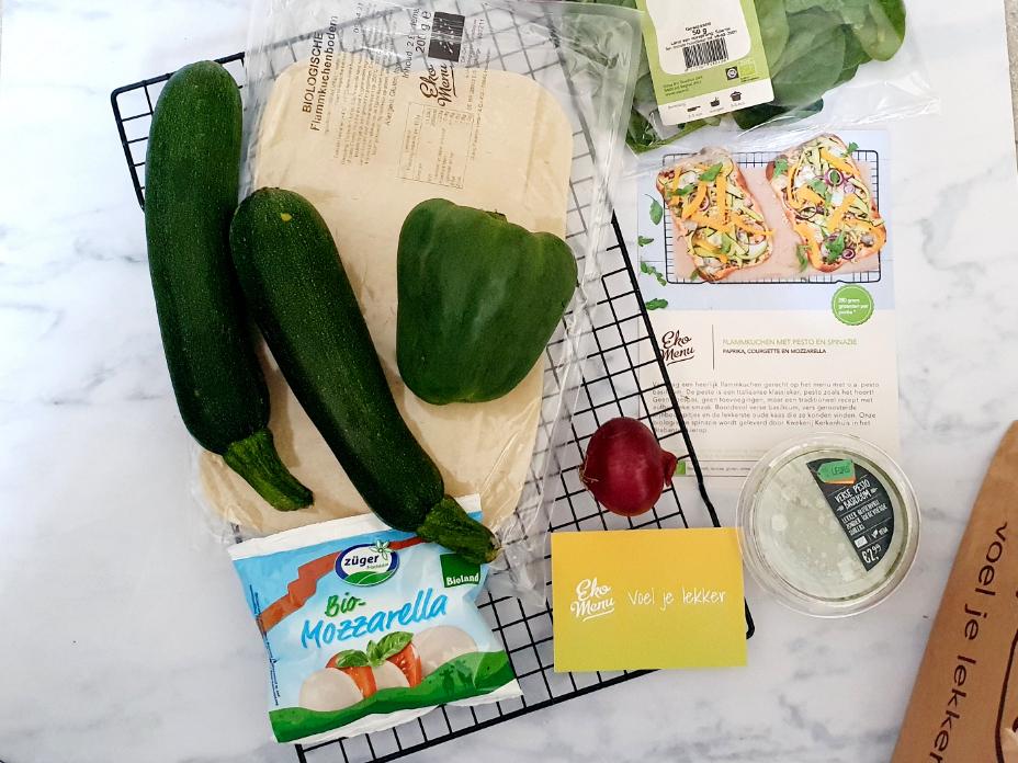 Ingredienten maaltijdbox 1
